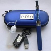 meilleur étui à cigarettes électronique achat en gros de-EGO CE4 Starter Kit Cigarette Electronique Etui Case Kit Unique E-Cigarette 650mah 900mah 1100mah Batterie Meilleur prix CE4 vaporisateur