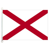 Wholesale alabama flags - Alabama Flag Banner 3X5FT-90x150cm 100% Polyester, 110gsm Warp Knitted Fabric Outdoor Flag
