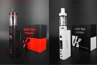 alt kutu mod başlangıç kitleri klonu toptan satış-Klon Kanger Subox Mini Başlangıç Kiti Alt Tankı Mini 4.5 ml Atomizer Değişken Watt KBOX Kangertech Kutusu Mod E sigara Buhar DHL ücretsiz