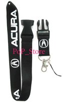 Wholesale Motor Holder - Wholesale - Free SHIPPING Motor car Acura KEY Lanyard ID Holder For Party car-1