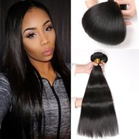 Barato Top Queen Weave-Rainbow Queen Malásia Cabelo Humano 4 Pcs Straight Hair Weave Bundles 400g Grau 8A Top Sale Malasia Virgin Hair Straight Extension Weave