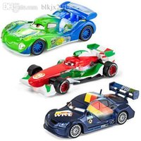 Wholesale Cars Francesco Bernoulli Toy - Wholesale-3Pcs 100% Original PIXAR CARS 2 - Francesco Bernoulli Carla Veloso Sebastian Schnell German 1:55 Diecast Metal Loose Toy Car