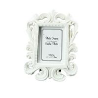 siyah beyaz düğün gereçleri toptan satış-FEIS toptan (beyaz, siyah) Barok fotoğraf resim çerçevesi Düğün Yeri Kart Tutucu Nişan Iyilik Hediye Parti Aksesuar Dekorasyon Malzemeleri
