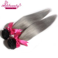 Wholesale Extention Remy - New Style Hair Extention Double Weft Straight Remy Virgin Hair Bundles 7a Lili Hair Dyeable Bleachable Virgin Hair Extension