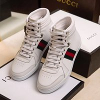 Wholesale Size Wedge Sneakers - breathable trainer sneakers Men casual shoes Luxury brand Non-slip Round toe mens shoes Size EUR 38-44 model 8042250