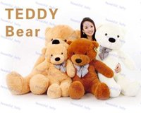 Wholesale Low Price Giant Stuffed Bears - Hot Sale Right Angle 1.6 Meters 63''inch 5 Colors Giant Large Size Teddy Bear Plush Toys Stuffed Toy Lowest Price Birthday gifts Christmas