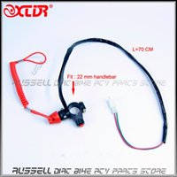 Wholesale Kill Tether - Universal Engine Motor Quad Scooter ATV Kill Stop Tether Switch Push Button & Safety Tether Emergency Kill Stop