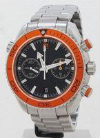 Wholesale Watch Diver Orange - New Luxury Sea Planet Ocean Orange Bezel Black Dial Automatic Mechanical Date Mens Watch Stainless Men's Sport Wristwathes bussiness watch