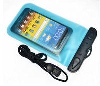 su geçirmez plastik telefon çantası toptan satış-Varış Özel Teklif için Samsung HTC Blackberry için Plastik Su Geçirmez Cep Telefonu Kılıfı, su geçirmez Çanta, pvc Kılıf Çanta