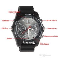 Wholesale Hd Digital Watch - Original 1920*1080P Watch Camera DVR HD Automatic IR PC Camera Watch Digital Voice vedio Recorder Spy Watch Hidden Camera with retail box
