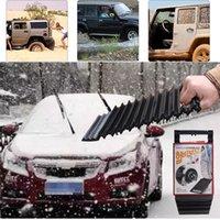 Wholesale Black Car Shovel - Car Snow Shovel Anti-skid Mats Tire Anti-skid Pads Car Anti Slide Plate Outdoor Car Supplies Black