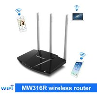 Routers Wifi Mercurio Baratos-Mercury MW316R enrutador inalámbrico a través de las paredes tres Antena 300M Wireless Wifi router