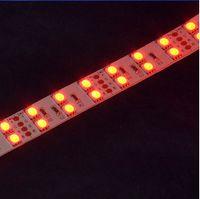 ir leds wholesale-5050 RGB LED Strip light DC12V SMD5050 flexible 120leds/m LED lamp non-waterproof double row highlight RGB led strip