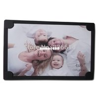 """Wholesale Wholesale 4x6 Frames - Free shipping Acid free the cheapest black paper photo frame 4x6 """" with magnet"""