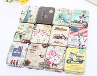 Wholesale Storage Box Seal - Colorful mini tin Metal box Sealed jar packing boxes jewelry candy box small storage cans Coin earrings headphones gift box