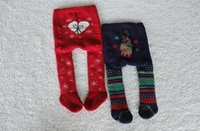 Wholesale Tight Panties Child - kids christmas pants cute baby kids boy girl toddler pp pants legging pantyhose for children tights stocking panties pantyhose in stock