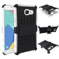 Wholesale Duty Cases Note - 2 in 1 Hybrid KickStand Impact Rugged Heavy Duty TPU+PC Shock Proof case Cover for Samsung Galaxy E7 NOTE 3 S6 EDGE PLUS S7 PLUS 50PCS LOT