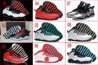 Wholesale Ladies Hunting - 9 Colours (With Box) Wholesale Retro 10 Powder Blue Bulls Over Broadway GS Fusion Red Lady Liberty Verde Women Basketball Sport Shoes
