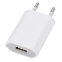 Wholesale 5v 1a Usb Adaptor - Colorful USB Power Adaptor Wall Charger US EU Plug For iPhone 4s 5s 6 plus USB Charger Adaptor for S4 S5 9500 Note2 Colorful 5V 1A , A013