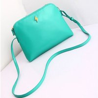 Wholesale Low Price Designer Bags - Wholesale-Price Lowest!2015 New fashion Women messenger bag PU leather Furly Candy shoulder bag shell bag Designer Women mini banquet bag