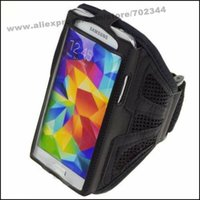 Gros-New Mesh Gym Sport Courir Armband Cover Case Holder pour Samsung Galaxy S6 S5 S4 S3 M7 M8 M9