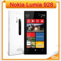 Wholesale Cheap Dual Camera Mobile Phones - Cheap original Unlocked Original Windows mobile Phone 4.5'' Dual Core 1.5GHz 32GB 3G Nokia Lumia 928 cell phone