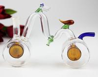 Wholesale vap hookah for sale - Group buy Bicycle shape glass hookah smoking pipe Bicycle shape glass hookah smoking pipe vap vaporizer