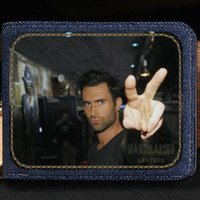 Maroon 5 portefeuille Rock band bourse Adam Levine musique caisse courte note Money notecase cuir burse bag Porte-cartes