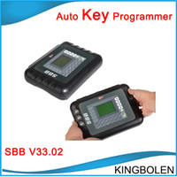 Wholesale Toyota Transponder Key Maker - 2017 Newest Version SBB Key Programmer Locksmith V33 sbb V33.02 TRANSPONDER KEY PROGRMMER Professional Key Maker DHL Free Shipping