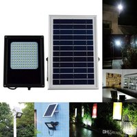 15W 1300 Lumens LED Solar Light 3528 SMD Solar Powered Panel Floodlight Sensor de corpo Outdoor Garden Landscape Spotlights Lamp
