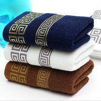 Wholesale Super Man Baby - Hot Sales Luxury Men Face Towel linge de toilette Super Soft 100% Cotton Towel Brand Home Terry Towel Free shipping q171128