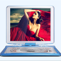 SAST Mobile DVD Player 20 Zoll ultra-dünne High-Definition-Display Eingebaute Batterie tragbare Spiel EVD, MPEG4, VCD, CD, DVD-RW, CD-R / RW