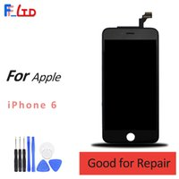 Original AAA + + + für iPhone 6 LCD Kompatibel für IOS 11 Display Digitizer mit Touch Screen Assembly Ersetzen 100% Getestet
