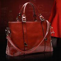 Wholesale Multi Use Shoulder Bag - Wholesale-Fashion Brand Designer Cowhide Women Messenger Bags Vintage Female Shoulder Casual Luxury Genuine Leather Bag Multi-use Handbag