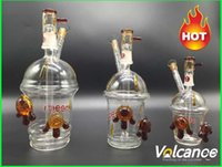 Wholesale starbucks water pipe oil rig for sale - Starbucks Glass Cup Cheech Glass Honey Cup with One Pair of Tortoise Oil Rigs Glass Bongs Glass Hookah Glass Water Pipe