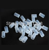 Wholesale Ego T Flavor - Wholesale-China Wholesale Disposable Rubber Caps Mouthpiece Flavor Testing Tips For eGo-C T VV W MT3 CE4 clearomizer silicone drip tips