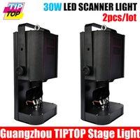 Wholesale Scanner Led Stage Light - Wholesale-Free shipping 2pcs lot stage light led scanners 30W DMX 512 protocol 13-degree beam angle Master Slave-operation led Stage light