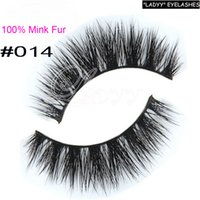 Wholesale Sexy Semi - 014 eyelashes Free shipping real mink eyelashes long thick eyelashes sexy eyelashes false eyelashes