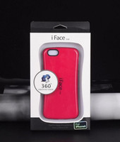 Wholesale Iface Case For S3 - 30pcs iface Case For iphone 6 6 plus 4 5C for Galaxy S3 S4 S5 NOTE3 NOTE4 PC+TPU Case Colorful i face Back Cases