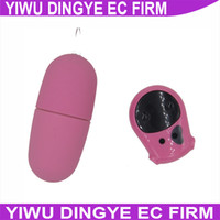 Wholesale Cow Remote Control Vibrator - w1031 Women Wireless Remote Control Waterproof Cow Bullet and Egg Crow Vibrator Masturbation Sex Toys For Female
