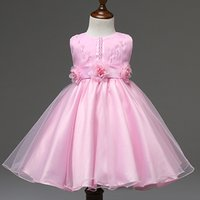 Wholesale Flowers New Generation - Foreign trade new flower girl dresses and Flower Pearl Princess Dress skirts winter wear a generation