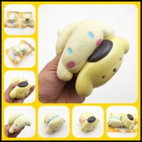 Wholesale Lovely Gadget - Lovely Pudding Pubby Jumbo Squishy 10.5cm Soft Toys Decompression Squishies Gadgets by Pressing as Xmas Gifts Items