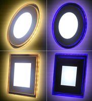 15 watt led-leuchten großhandel-10 watt 15 watt 18 watt acryl led einbauleuchte panel licht deckenwandleuchte ac85-265v kühles weiß warmweiß für wohnkultur licht scheinwerfer
