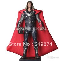 Wholesale Thor Dark World Figures - Wholesale-Wholesale Retail Free Shipping FS Rare Thor The Dark World 30cm Collection PVC Movie Figure Loose