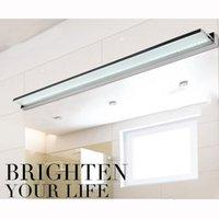 Wholesale Headboard Designs - Wholesale-2015 New Design Modern 18W 112CM LED wall lamp bedroom headboard bedside lamp banheiro LED bathroom light wall sconce lamp