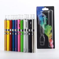 Wholesale Ecig Blister Kits - E-cigarette MT3 ecig batteries kits Ego starter kit Vapor evod e cigl atomizer Electronic cigarette mt3 atomizers blister case Clearomizer