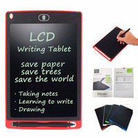 Wholesale 8 inch LCD Writing Tablet Drawing Board Blackboard Handwriting Pads Gift for Kids Paperless Notepad Tablets Memo With Upgraded Pen