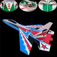 kits de aviones modelo rc al por mayor-A estrenar su 27 modelo rc aviones parte multicolor resistente a la rotura tablero de espuma kt llevó kits de cuerpo de avión jet dropshipping
