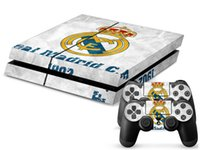 Wholesale 1Pcs High quality pop PS4 Sticker Console Skin and Controller Sticker skin For PS4