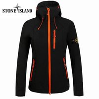 Wholesale Freely Stand - 2017 New woman Stone Outdoor Sports waterproof Jacket Island Prevented Zipper jacket In Ultra-Thin Breathe Freely Jacket